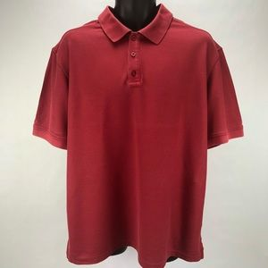 Nordstrom  Shop Red Golf Polo Size XL